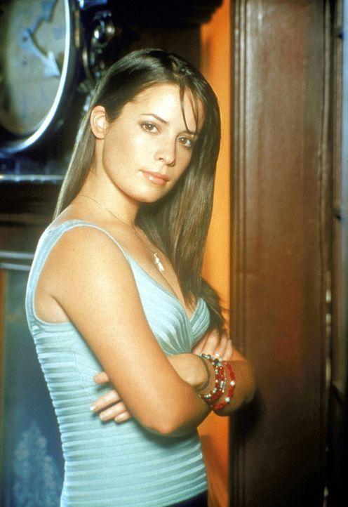(3. Staffel) - Piper Halliwell (Holly Marie Combs) hat die Fähigkeit, die Zeit in ihrer näheren Umgebung anzuhalten. - Bildquelle: Paramount Pictures
