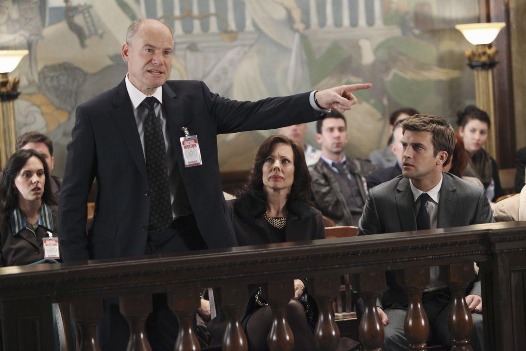 Als der Richter verkündet, dass der Prozess vertagt werden muss, ist Randolph Addison (Jim Meskimen, l.) empört. Sein Sohn Stephen (Houston Rhines,... - Bildquelle: ABC Studios