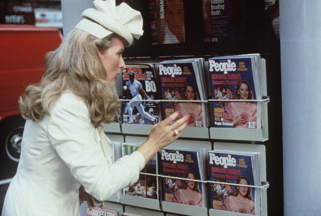 Die erfolgsverwöhnte Bestseller-Autorin Mary (Meryl Streep) wird plötzlich zur Zielscheibe der Regenbogenpresse ... - Bildquelle: 20th Century Fox