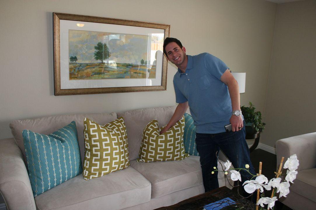 Noch glaubt Tarek, dass er mit dem Haus einen guten Deal gemacht hat ... - Bildquelle: 2014, HGTV/Scripps Networks, LLC. All Rights Reserved.