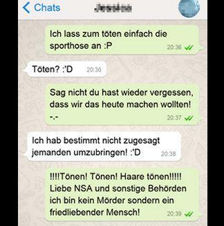 Töten in Sporthose - Bildquelle: SMS von gestern Nacht