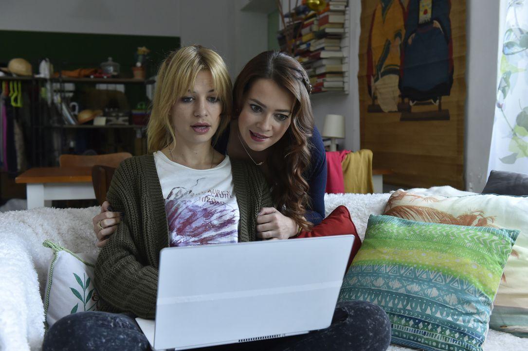 Mila (Susan Sideropoulos, l.) und Sally (Laura Osswald, r.) müssen erkennen, dass das Geheimnis einer erfüllten Beziehung im Alltag gründet ... - Bildquelle: Claudius Pflug Sixx