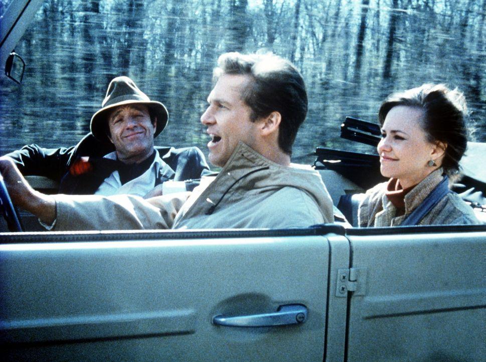 Wochenendausflug zu dritt: Der vergnügte Geist Jolly (James Caan, l.), Kays neuer Verlobter Rupert (Jeff Bridges, M.) und Kay selbst (Sally Field,... - Bildquelle: Twentieth Century Fox Film Corporation