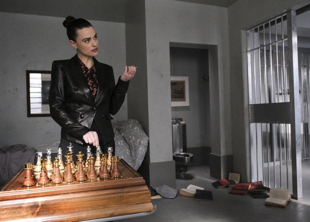 Lena (Katie McGrath) - Bildquelle: Bettina Strauss 2018 The CW Network, LLC. All Rights Reserved.