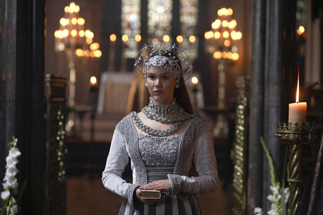 Anna von Klewe (Joss Stone), die neue Königin von England ... - Bildquelle: 2009 TM Productions Limited/PA Tudors Inc. An Ireland-Canada Co-Production. All Rights Reserved.