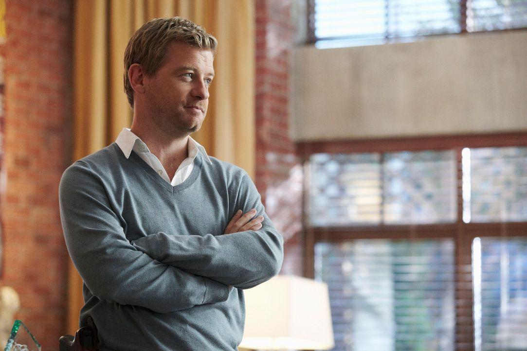 Ermittelt gemeinsam mit Megan in einem neuen Mordfall: Peter (Nicholas Bishop) ... - Bildquelle: ABC Studios