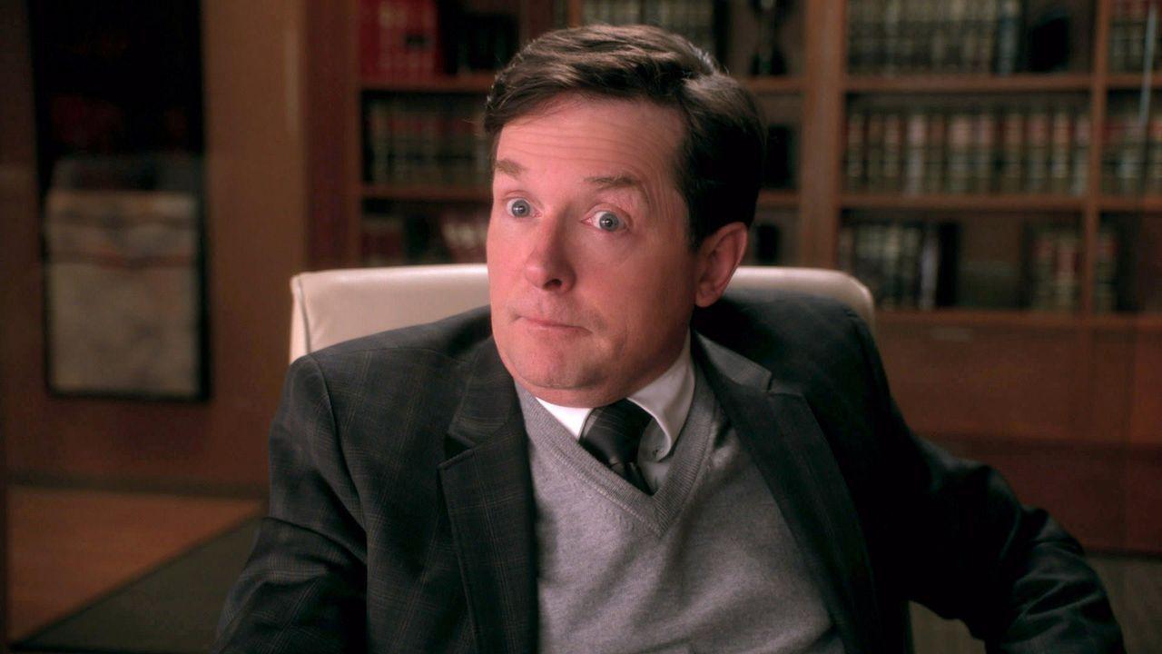 Louis Canning (Michael J. Fox) meldet sich bei Alicia und will Geld: Zwölf Millionen Dollar Schadensersatz wegen der, seiner Meinung nach, unrechtmä... - Bildquelle: 2014 CBS Broadcasting Inc. All Rights Reserved.