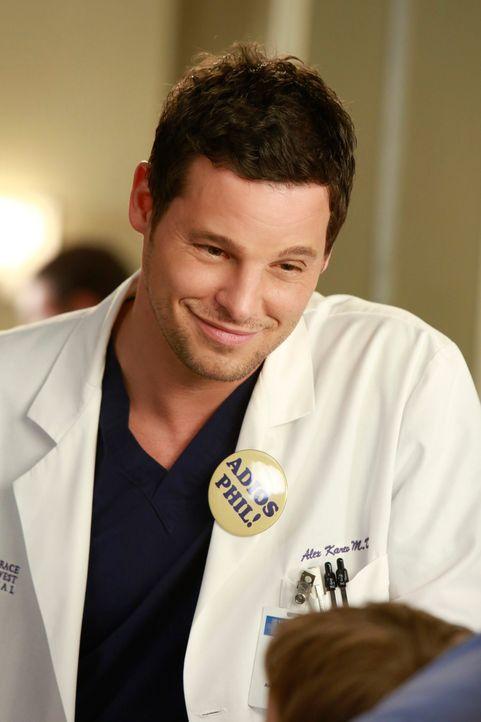 Dr. Alex Karev (Justin Chambers) kann sehr gut mit Kindern umgehen. Sein neuester Patient weiß seine liebevolle Art zu schätzen. Ihm muss ein großer... - Bildquelle: ABC Studios