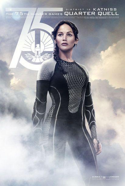 Jennifer Lawrence als Katniss Everdeen - Bildquelle: Lionsgate