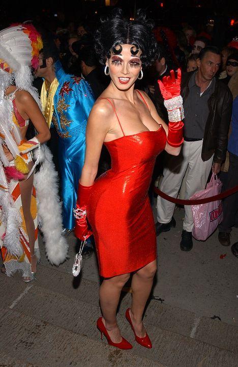 Heidi Klum: Halloween als Betty Boop - Bildquelle: AFP