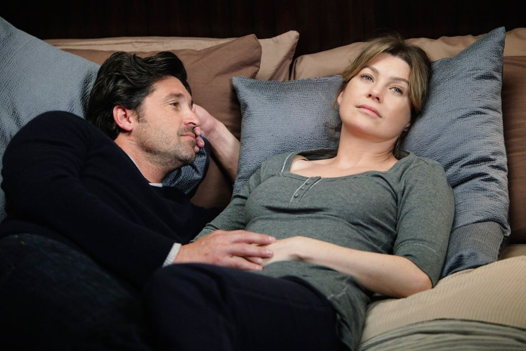 Ein Besuch beim Gynäkologen endet für Meredith (Ellen Pompeo, r.) und Derek (Patrick Dempsey, l.) anders als geplant ... - Bildquelle: ABC Studios