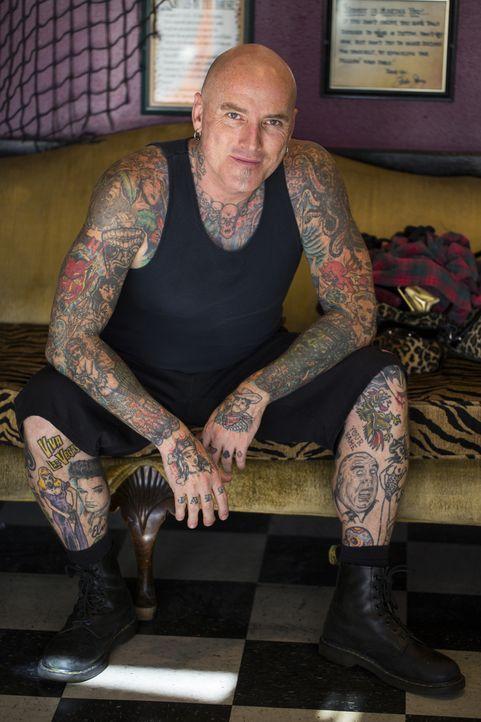 Musiker, Vater zweier Kinder und Tattoo-Artist: Dirk hat viele Seiten ... - Bildquelle: 2013 A+E Networks, LLC