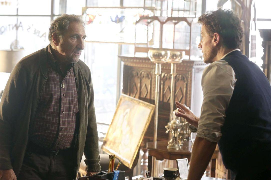 Henry (Ioan Gruffudd, r.) kann nicht glauben, dass Abe (Judd Hirsch, l.) von dem Wunsch beseelt ist, den gefährlichen Zaubertrank, der die Jugend zu... - Bildquelle: Warner Brothers