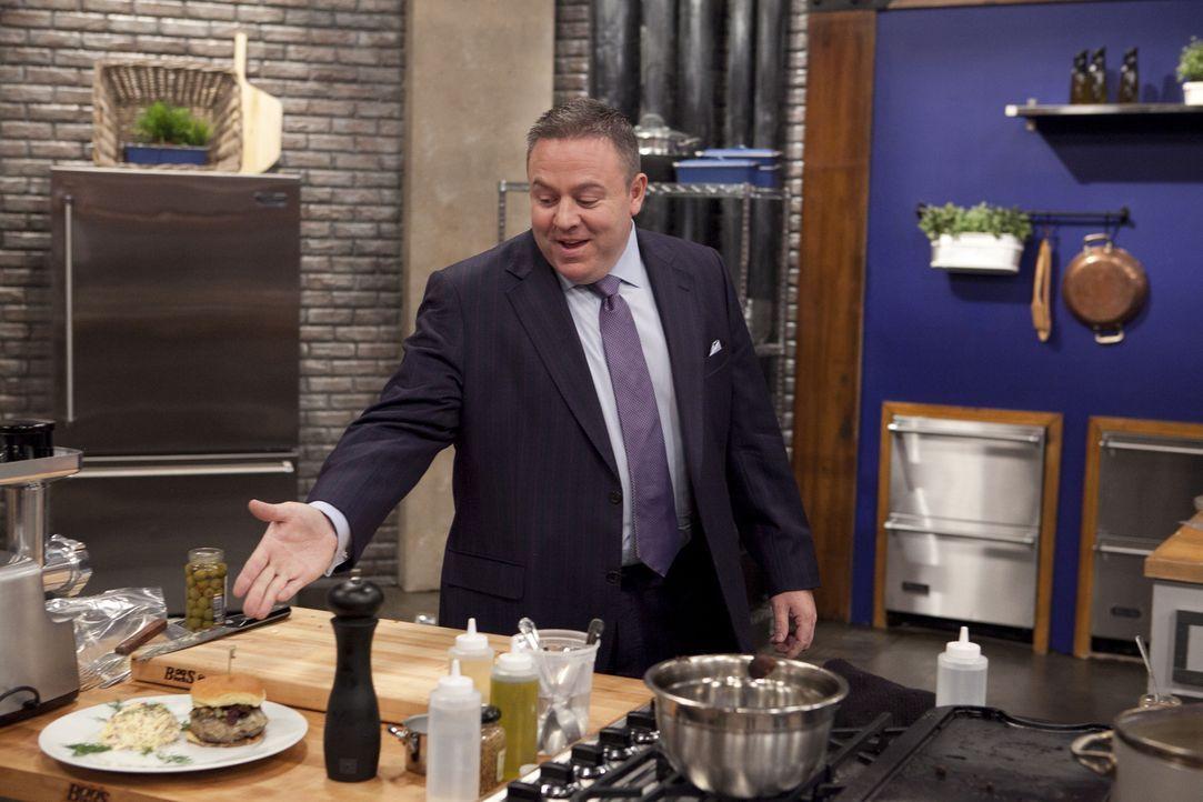 Was wird Gastronom Willie Degel zu den Burgern sagen, die von den Rekruten erschaffen wurden? - Bildquelle: David Lang 2012, Television Food Network, G.P.