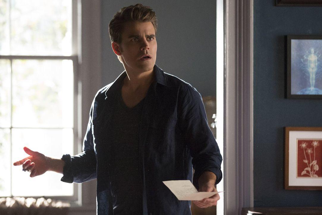 Wird es Stefan (Paul Wesley) gelingen, endlich das aus dem Weg zu räumen, was zwischen ihm und Caroline steht? - Bildquelle: Warner Bros. Entertainment, Inc.