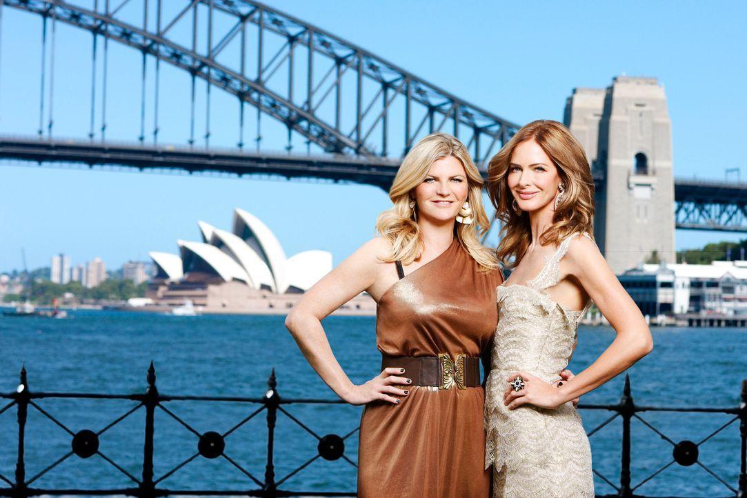 Ihre Mission ist es, aus Frauen, die mehr aus sich machen könnten, wahre Schönheiten zu machen: Susannah (l.) und Trinny (r.) ... - Bildquelle: XYZ Networks