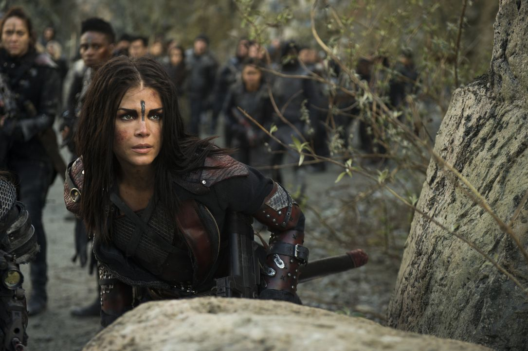 Octavia (Marie Avgeropoulos) - Bildquelle: Diyah Pera 2018 The CW Network, LLC. All Rights Reserved./Diyah Pera
