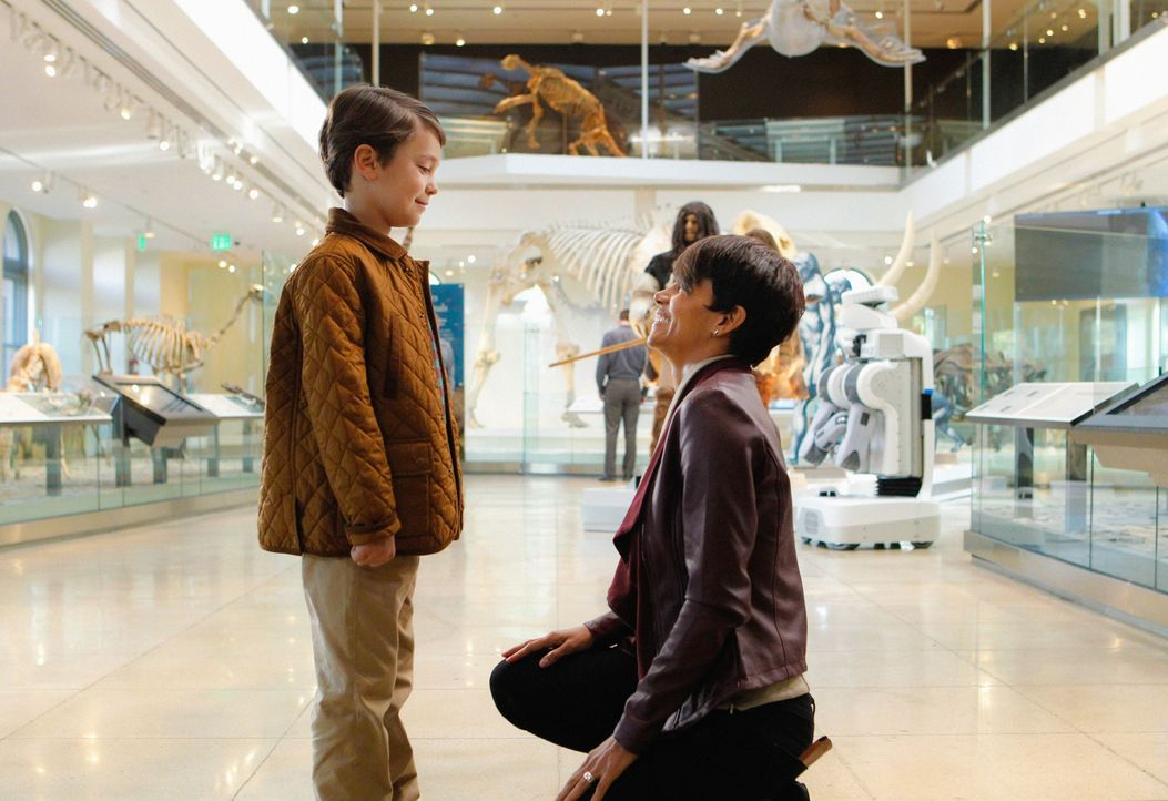 Extant: Molly und Ethan - Bildquelle: 2014 CBS Broadcasting, Inc. All Rights Reserved