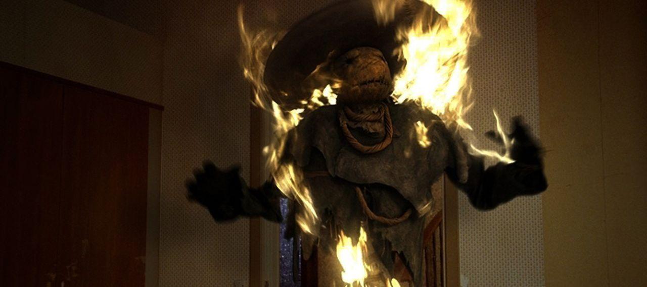 Schreckliche Gespenster und gefährliche Dämonen halten Lulu, Oliver und Richard in Atem ...
