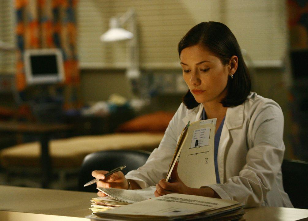 """Lexie (Chyler Leigh) versucht, Georges Status als """"Sitzenbleiber"""" vor den anderen Assistenzärzten geheimzuhalten ... - Bildquelle: Touchstone Television"""