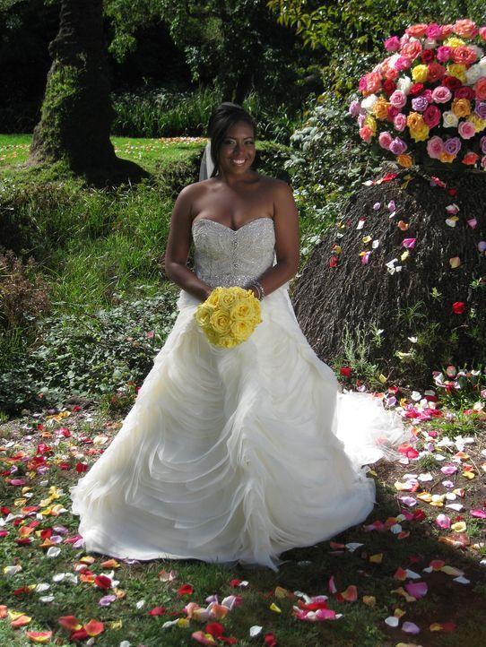 Kale glaubt, dass ihre Hochzeit einfach perfekt wird ... - Bildquelle: Richard Vagg DCL
