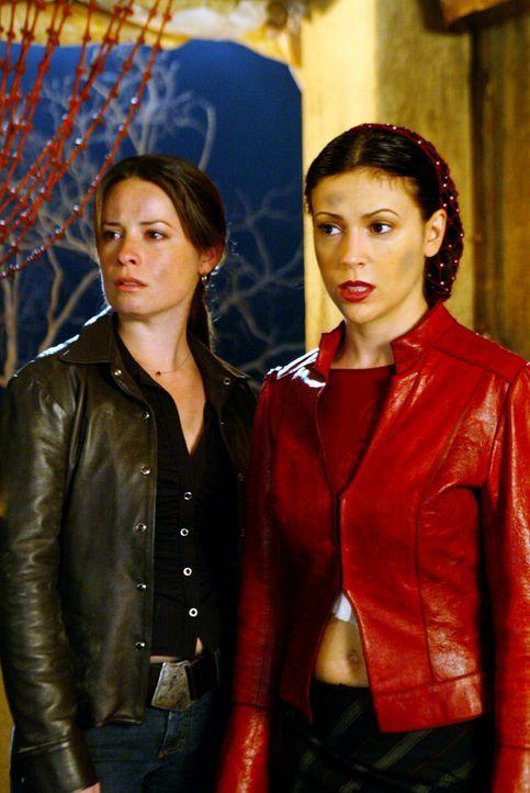 Pheobe (Alyssa Milano, r.) und Piper (Holly Marie Combs, l.) machen sich Sorgen um Paige ... - Bildquelle: Paramount International Television