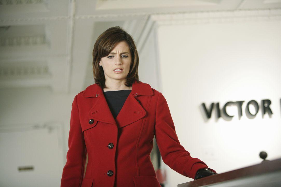 Vom Anblick, der sich ihr am Tatort bietet, ist Kate (Stana Katic) entsetzt ... - Bildquelle: ABC Studios