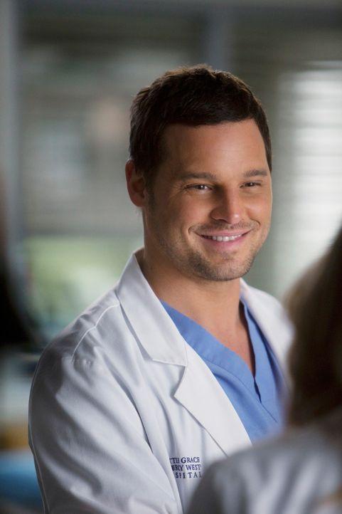 Wird Derek bei seiner Alzheimer-Versuchsreihe als Assistent zur Seite stehen: Alex (Justin Chambers) ... - Bildquelle: ABC Studios