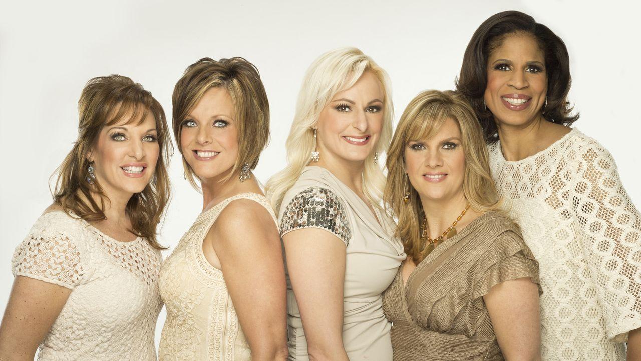 Sind hart im Nehmen: die Dance Moms (v.l.n.r.) Jill, Kelly, Christi, Melissa und Holly ... - Bildquelle: Richard McLaren 2012 A+E Networks