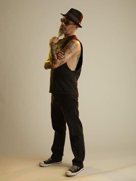 Ist nicht nur als Tattoo-Kenner unterwegs, sondern auch als Bassist: Rob Ruckus ... - Bildquelle: 2013 A+E Networks, LLC