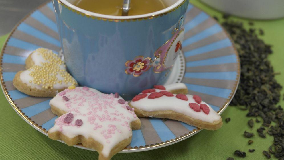Enies Weihnachtsplätzchen.Plätzchen Mit Grünem Tee
