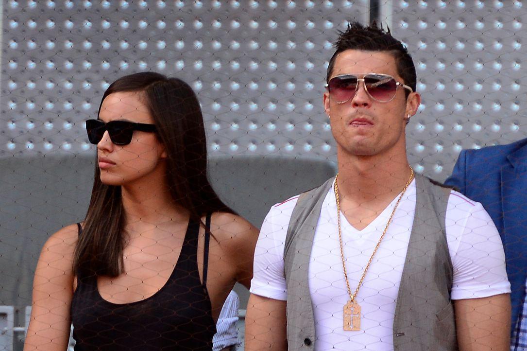 Irina Shayk und Cristiano Ronaldo - Bildquelle: AFP