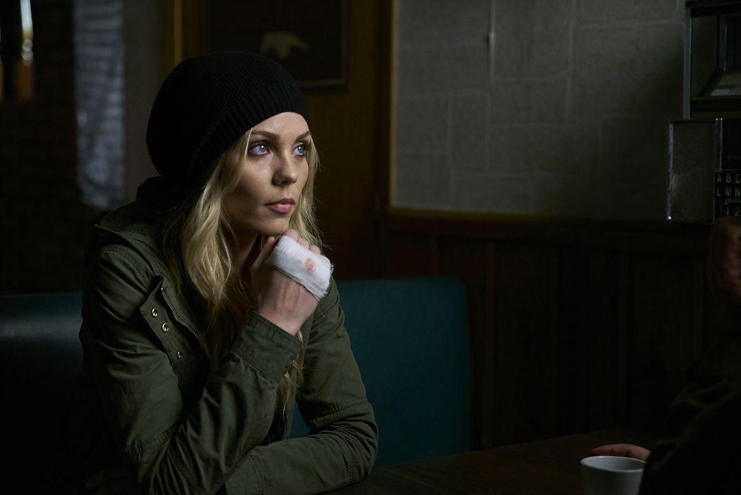 Elena (Laura Vandervoort) hat mit dem Gedanken zu kämpfen, dass sie möglicherweise nicht die ist, die sie immer glaubte zu sein ... - Bildquelle: 2016 She-Wolf Season 3 Productions Inc.
