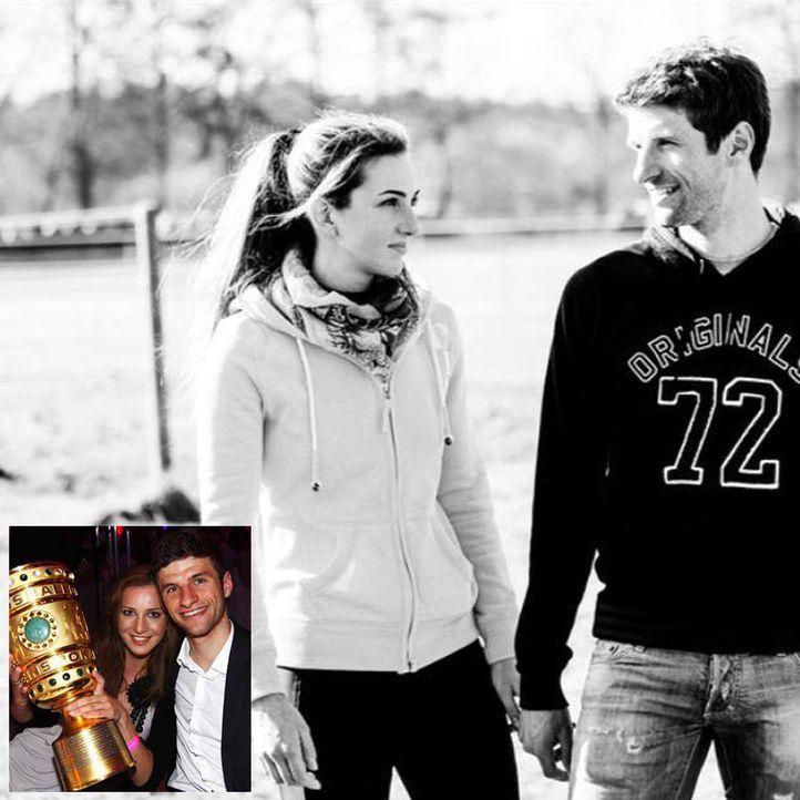 Spielerfrauen WM 2014: Lisa Müller - Bildquelle: Facbook/Thomas Müller and lisa