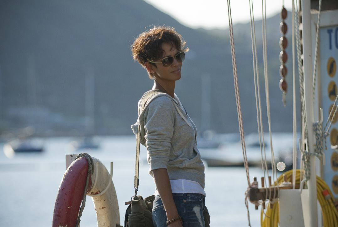 Seit ihr Tauchpartner bei einem Tauchunfall ums Leben gekommen ist, hat Hai-Expertin Kate Mathieson (Halle Berry) keinen Fuß mehr ins Wasser gesetzt... - Bildquelle: Magnet Media Group USA; MMP Dark Tide UK; Film Afrika Worldwide (Pty) Limited South Africa