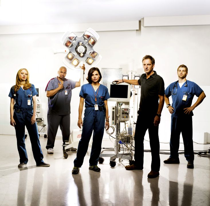 Das Miami Medical Hospital ist ein Trauma-Zentrum.  - Bildquelle: Warner Brothers