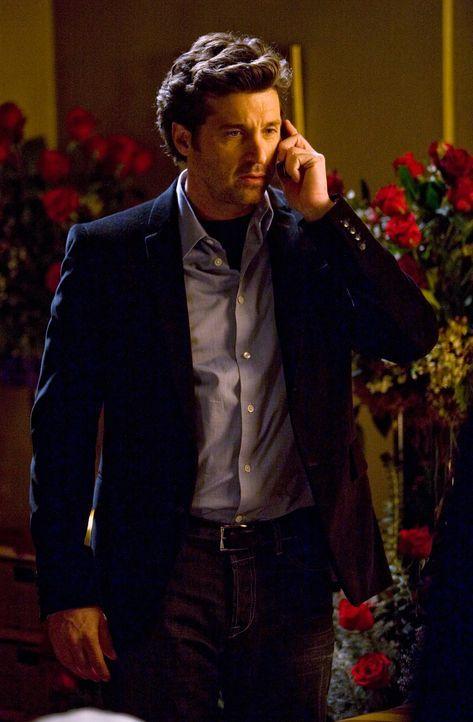 Hofft auf den richtigen Zeitpunkt um Meredith einen Heiratsantrag machen zu können: Derek (Patrick Dempsey) ... - Bildquelle: Touchstone Television