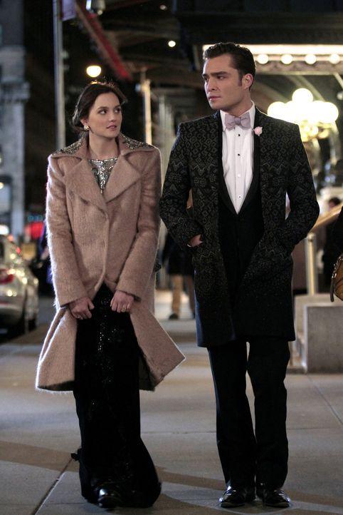 Werden Blair (Leighton Meester, l.) und Chuck (Ed Westwick, r.) wieder zusammenfinden? - Bildquelle: Warner Bros. Television