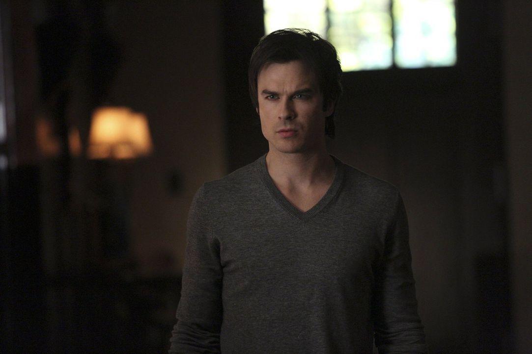 Während Damon (Ian Somerhalder), Elena und Jeremy mit Bonnie in Kontakt treten wollen, haben Liv und Tyler unterschiedliche Vorstellungen darüber, w... - Bildquelle: Warner Bros. Entertainment, Inc