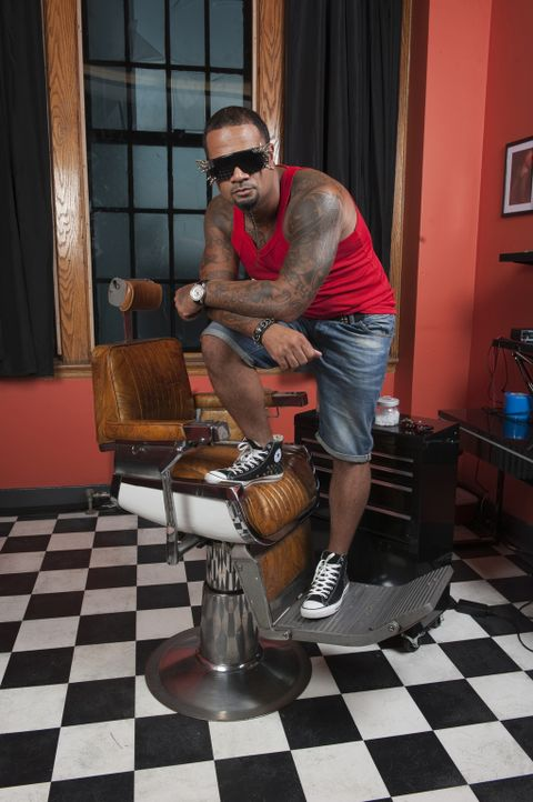 (1. Staffel) - Al Fliction war Teil der Graffiti Bewegung in New York, besitzt mittlerweile zwei Tattoo-Läden, veranstaltet Tattoo-Partys und ist an... - Bildquelle: Fernando Leon Spike TV