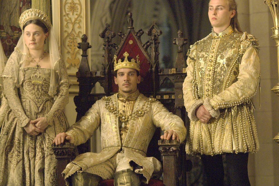 Der große Tag ist gekommen: König Henry VIII. (Jonathan Rhys Meyers, M.) nimmt Anne Boleyn zur Frau ... - Bildquelle: 2008 TM Productions Limited and PA Tudors II Inc. All Rights Reserved.