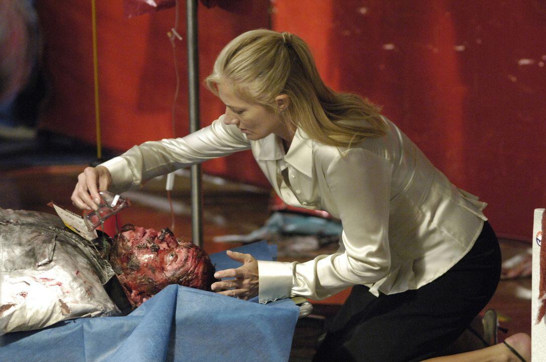 Nach einem Flugzeugabsturz bieten Sean, Christian, Julia (Joely Richardson) und Liz ihre Hilfe an, um die verletzten Überlebenden ärztlich zu vers... - Bildquelle: TM and   2005 Warner Bros. Entertainment Inc. All Rights Reserved.