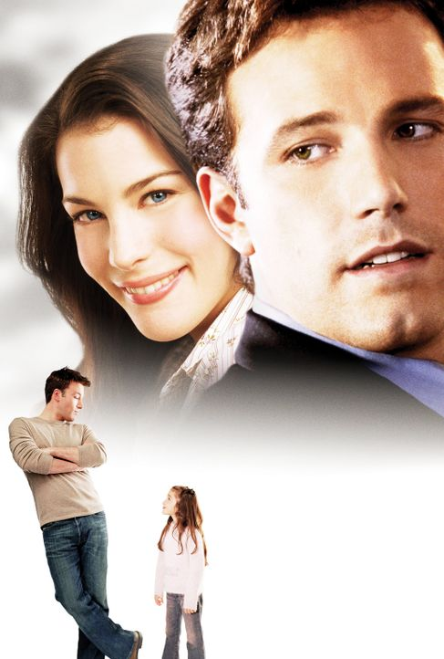 Jersey Girl: Nach einem schweren Schicksalsschlag finden Ollie Trinke (Ben Affleck, oben r.) und seine Tochter Gertie (Raquel Castro, unten r.) in M... - Bildquelle: Peter Sorel Miramax Films. All rights reserved