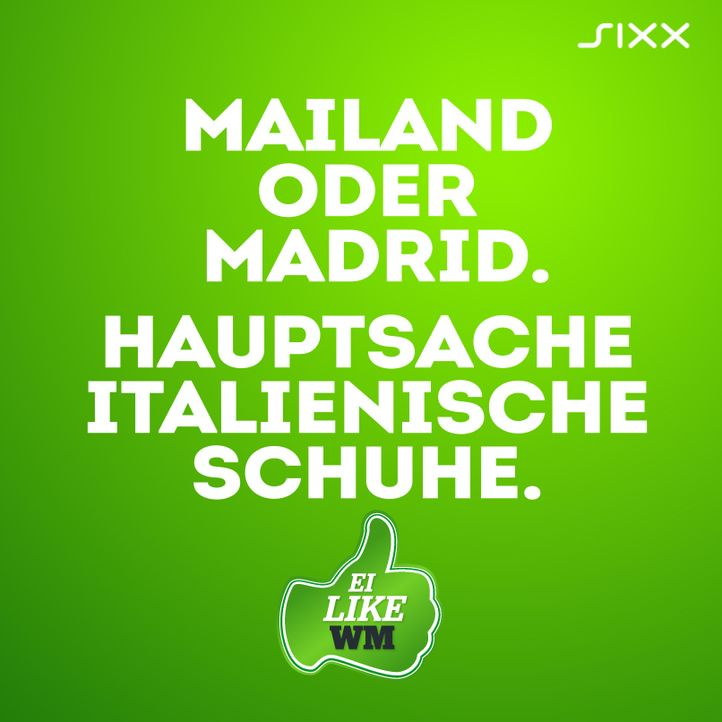 WM 2014: Funnyposts Italien - Bildquelle: sixx