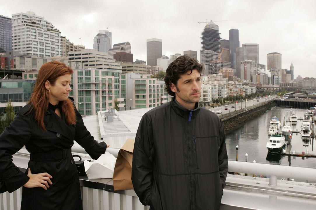 Derek (Patrick Dempsey, r.) und Addisons (Kate Walsh, l.) Herzen sind zwar nicht unbedingt füreinander entflammt, aber sie beschließen, es gemeinsam... - Bildquelle: Touchstone Television