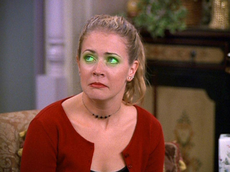"""Sabrina (Melissa Joan Hart) leidet unter einer stark ausgeprägten """"Eifersuchtitis"""". - Bildquelle: Paramount Pictures"""