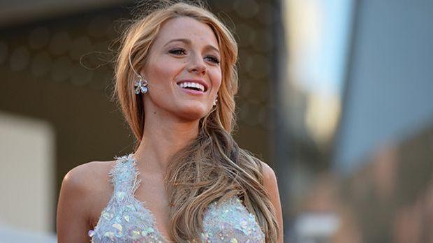 Blake Lively mir ihrem Million-Dollar-Smile