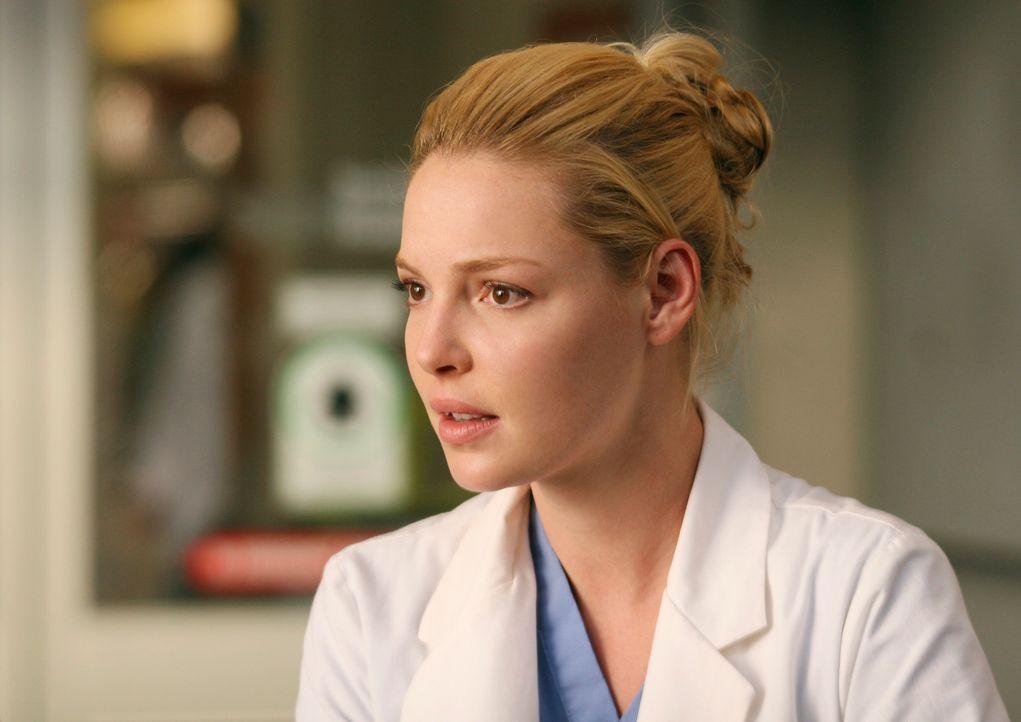 Izzie (Katherine Heigl) kaum es erwarten kann, dass die ersten Patienten in die neu eröffnete Denny Duquette Memorial Clinic kommen ... - Bildquelle: Touchstone Television