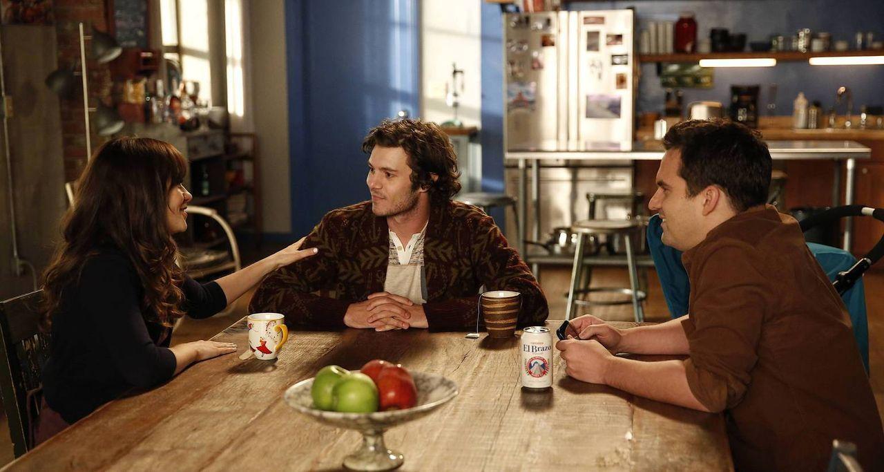 Jess (Zooey Deschanel, l.) will Nick (Jake M. Johnson, r.) beweisen, dass man mit seinem Ex-Partner auch befreundet sein kann und nimmt erneut Konta... - Bildquelle: 2014 Twentieth Century Fox Film Corporation. All rights reserved.