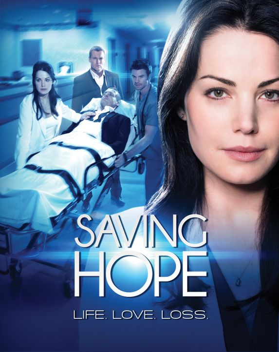 "(1. Staffel) - ""Saving Hope"" - Plakatmotiv - Bildquelle: 2012  Hope Zee One Inc."